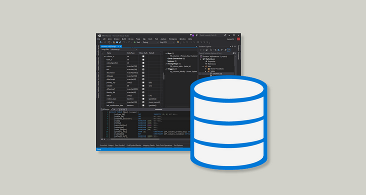 How to Document SQL Server Database Using Visual Studio 2015