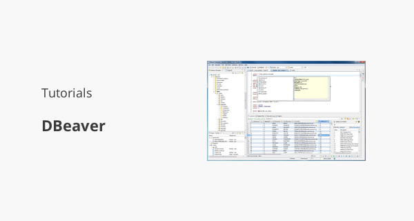 How to view and edit table and column comments with DBeaver